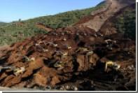 При сходе оползня в Мьянме погибли предположительно 50 человек