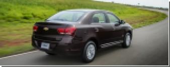 """Компания Chevrolet показала обновленный """"бюджетник"""" Cobalt"""