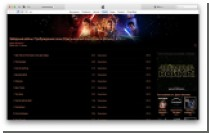Музыка из Star Wars: The Force Awakens доступна в iTunes