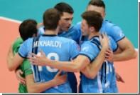 «Зенит» стал пятикратным обладателем Кубка России по волейболу