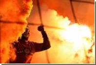 РФС заинтересовался сожжением флагов Турции фанатами «Спартака»
