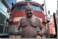 Российский тяжелоатлет сдвинул с места поезд массой 512 тонн