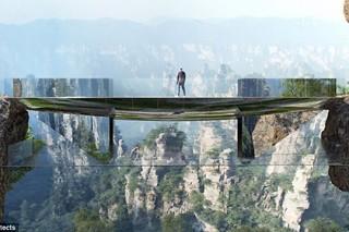 В Китае построят невидимый мост