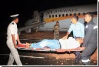 В ходе эвакуации из самолета в аэропорту Гоа пострадали 12 человек