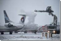 Московские аэропорты отменили несколько десятков рейсов
