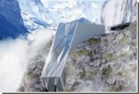 В Альпах построят «стекающий» с горы отель