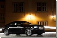 Первый Rolls-Royce Wraith Black Badge прибыл в Россию