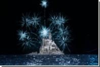 Tiffany & Co. соорудила бриллиантовый айсберг на витрине