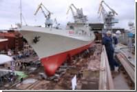 """Новейший фрегат """"Адмирал Макаров"""" завершает испытания"""
