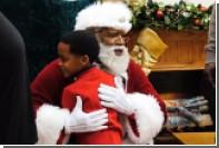 Крупнейший магазин в США взял на работу первого чернокожего Санта-Клауса