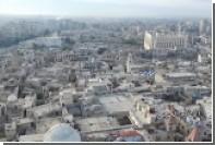 Беспилотник снял разрушения в воcточном Алеппо