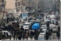 В Алеппо во время празднования освобождения города произошел взрыв