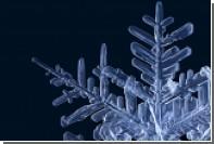 Физики подсчитали типы снежинок