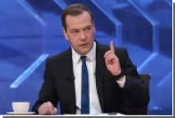Медведев поведал о превращении антидопинговой программы в антироссийскую