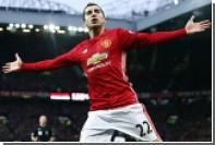 Армянский игрок «Манчестер Юнайтед» забил гол пяткой с передачи Ибрагимовича