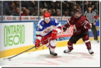Молодежная сборная России разгромила Латвию на ЧМ по хоккею